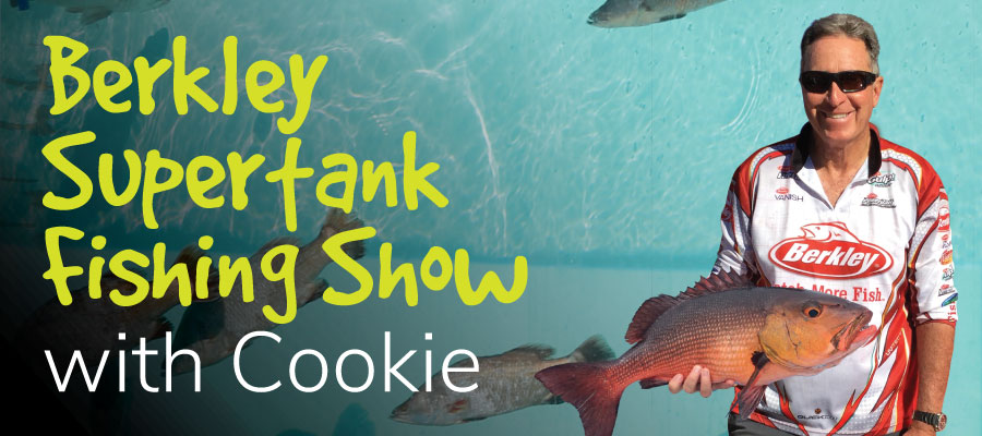 Berkley Supertank Fishing Show